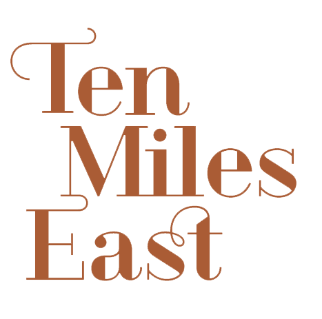 The Ten Mile East logo.  Click here  to download our logo in both print and web-friendly file formats.