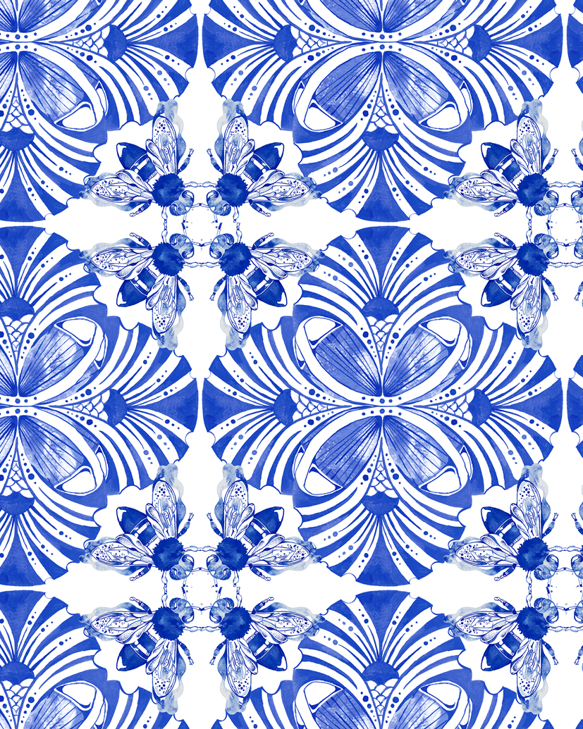 PommeChan_Bee Tiles Pattern2 copy.jpg