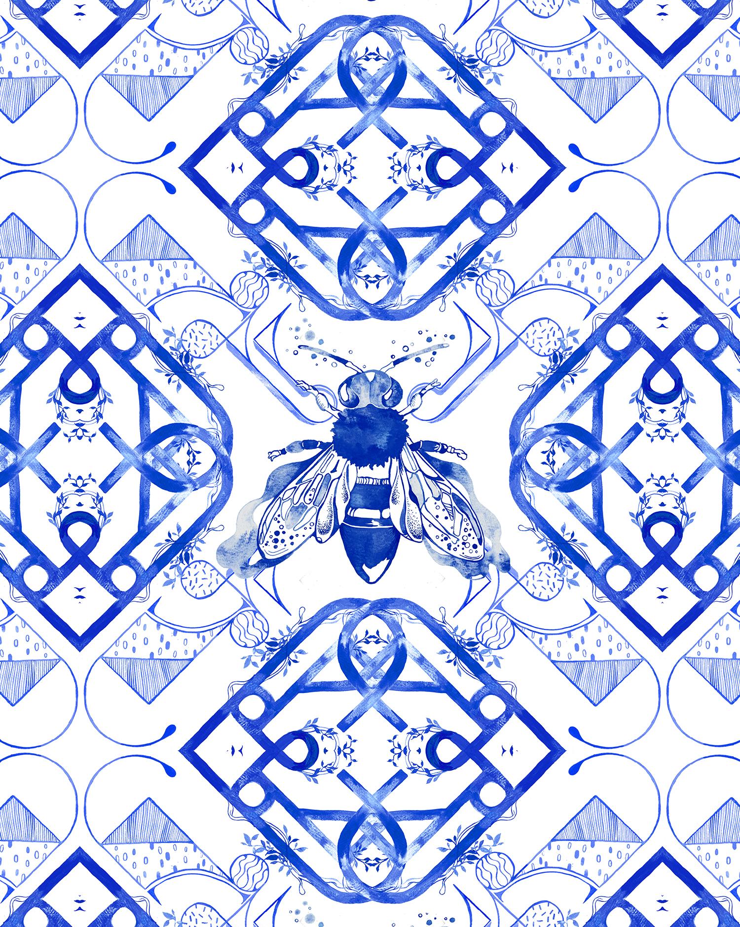PommeChan_Bee Tiles Pattern3 copy.jpg