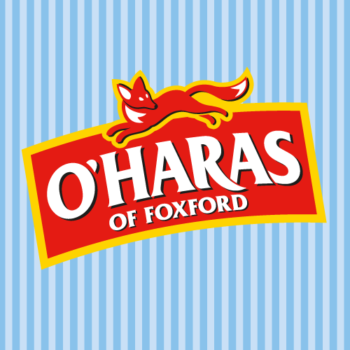 Packaging design projects for O'Haras of Foxford