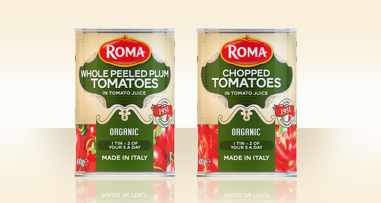 Roma Whole Peeled Tomatoes
