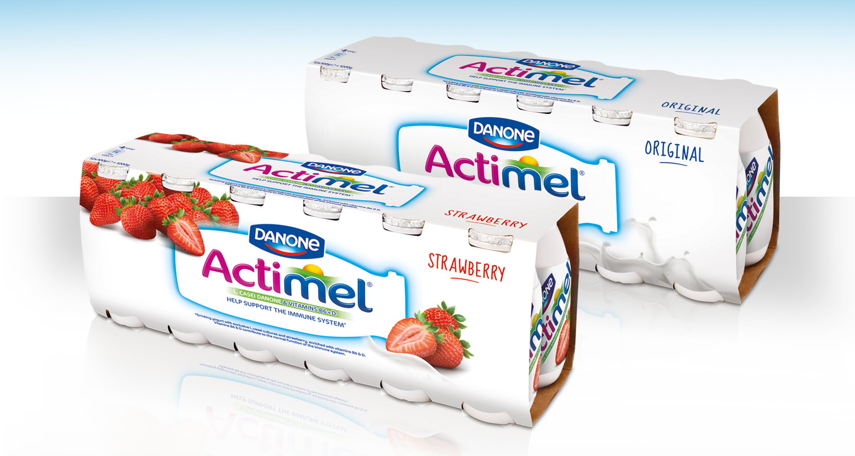Danone Actimel 12-packs