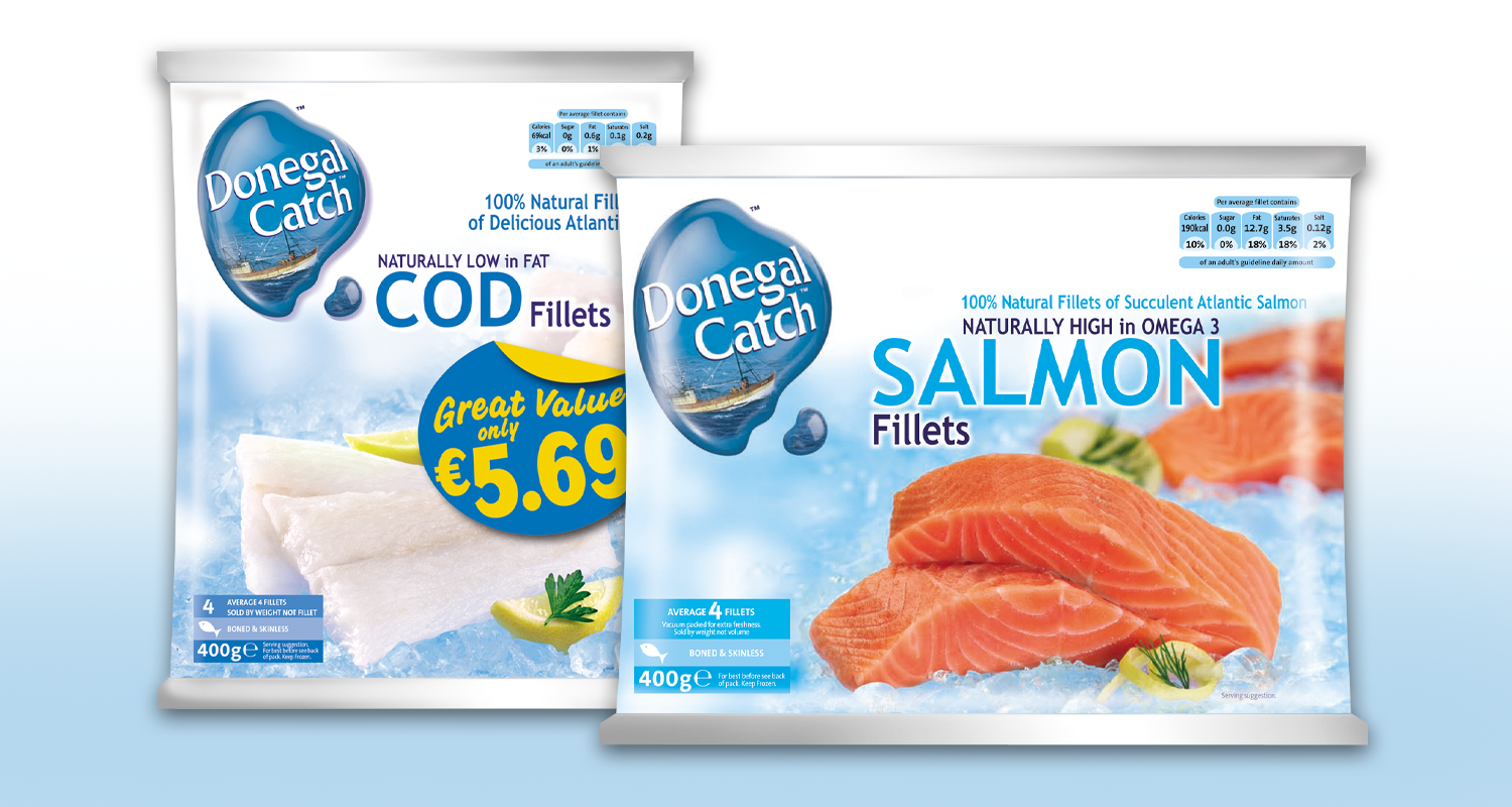 Donegal Catch Cod & Salmon