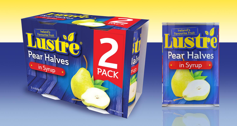Lustre Tinned Pears
