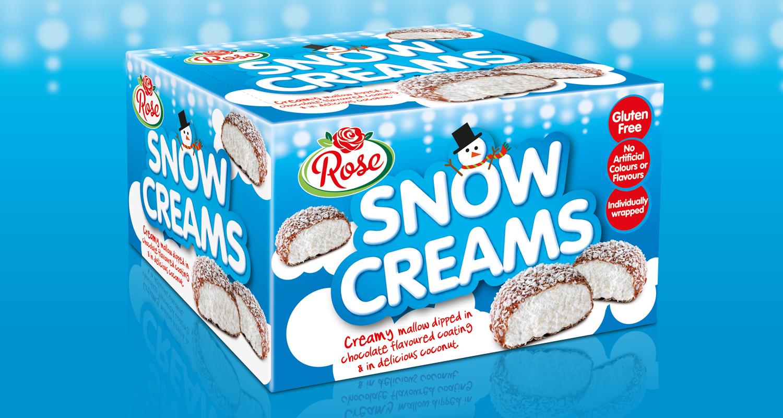 Rose Snow Creams Box