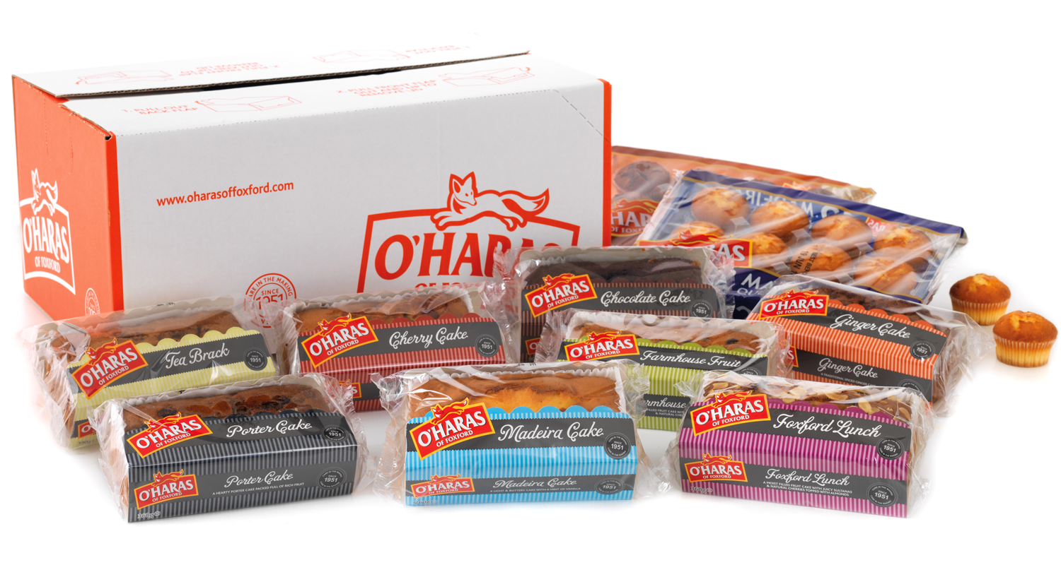 O'Haras of Foxford Cake Packaging