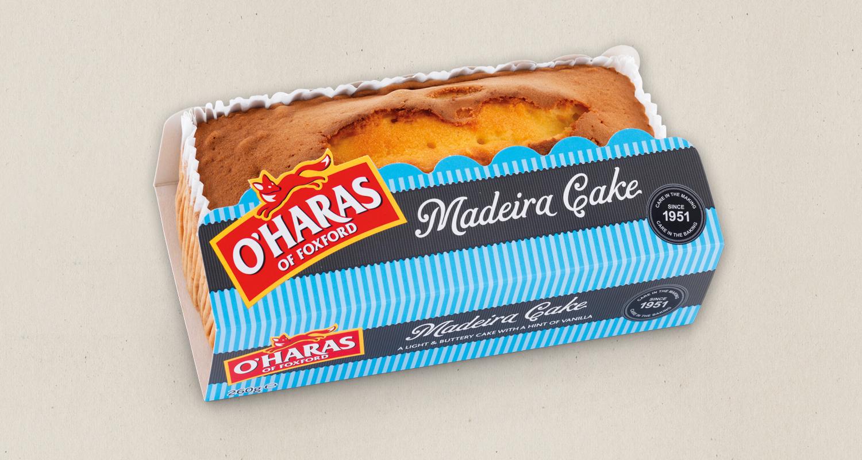 O'Haras of Foxford Madeira Cake