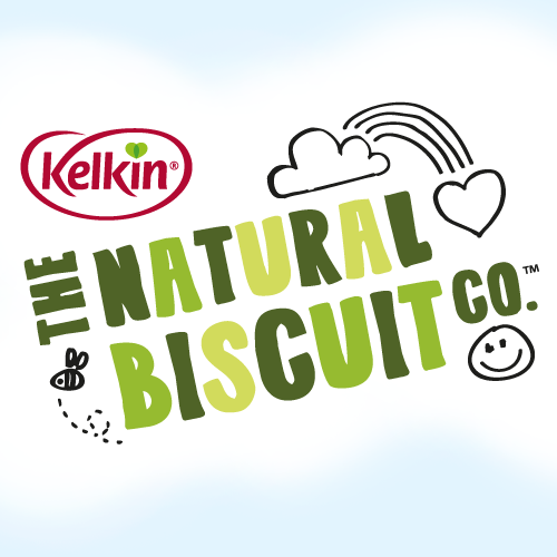 Brand identity and packaging design projects for The Natural Biscuit Co.