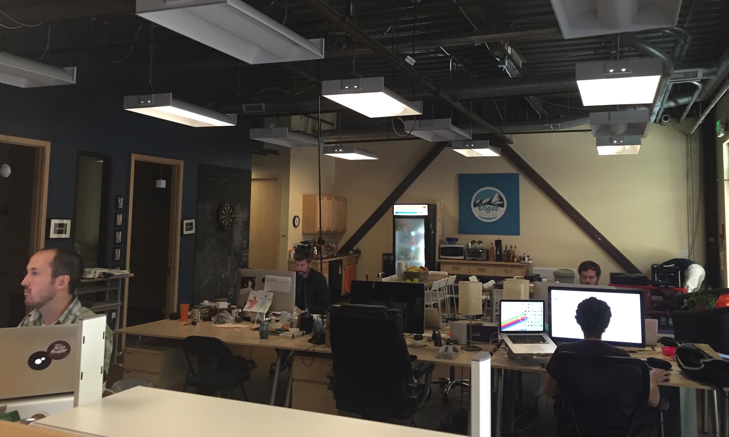 Viget's office in Boulder, Colorado.
