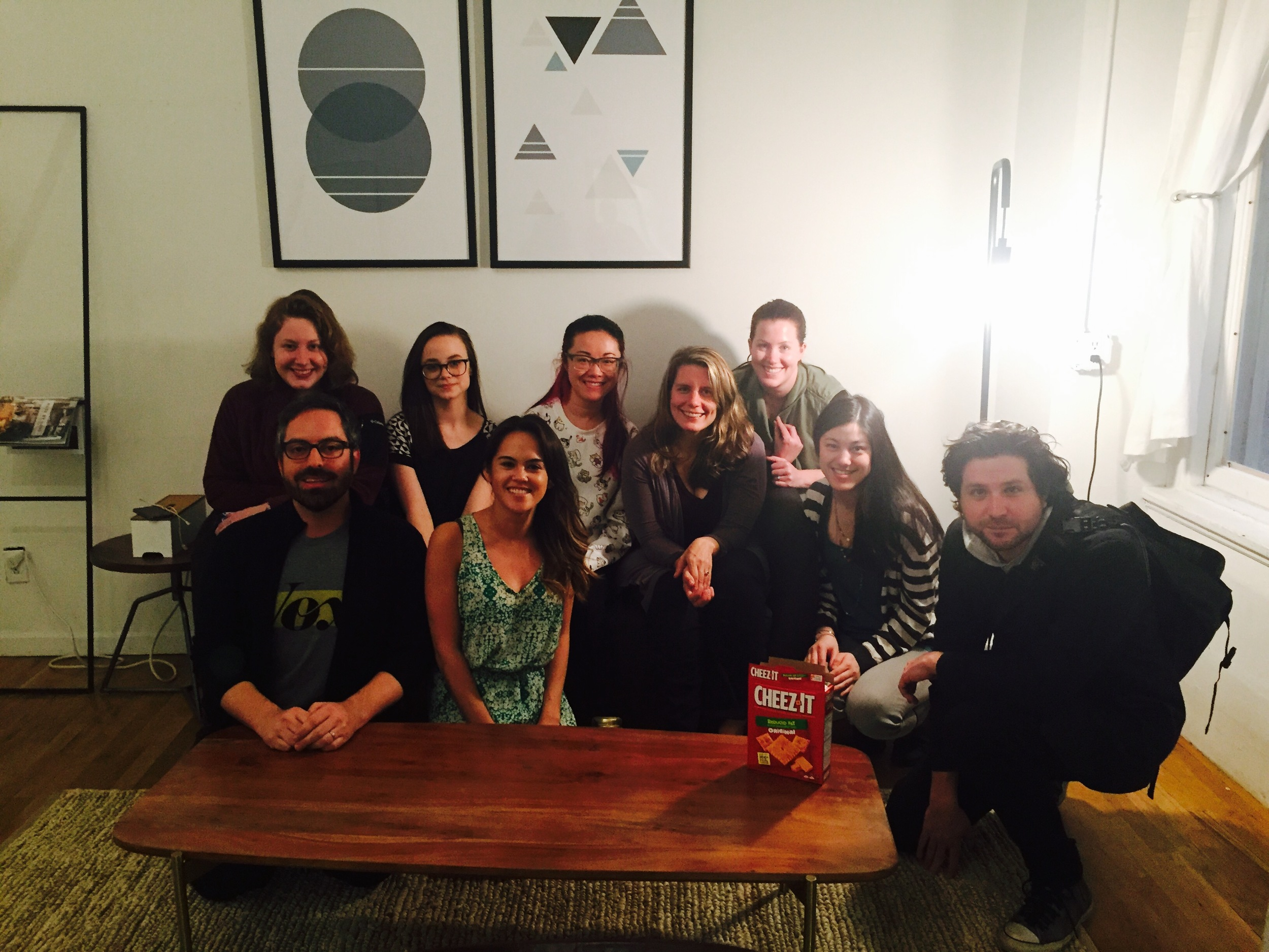 Our NYC contingent of the Editorial Products team <3
