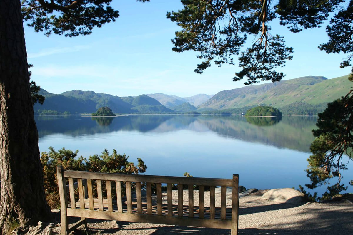 Friars Cragg, Derwent Water, The Lake District
