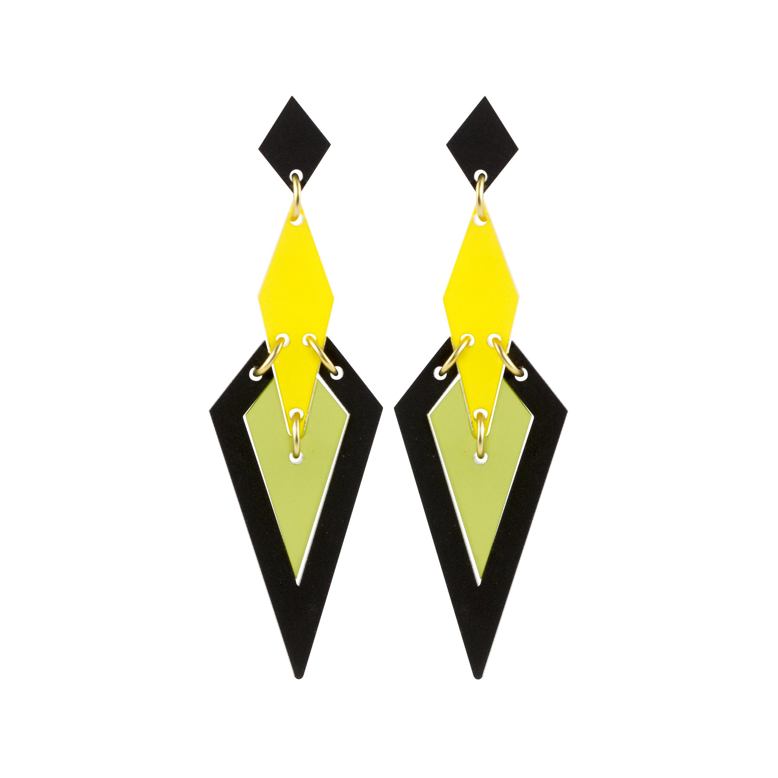 Violet & Wren x Toolally Iris Earring in Citrus