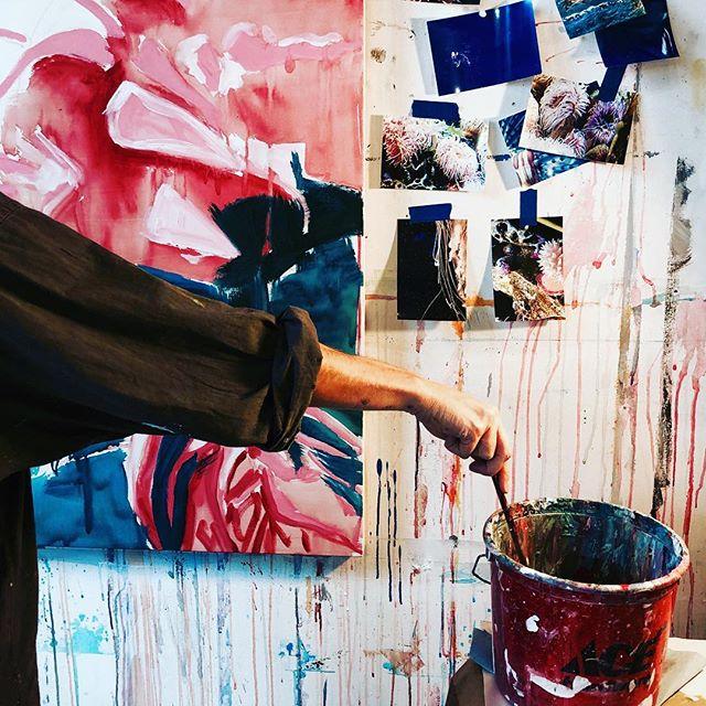 #brushstrokes by @kdowneymiller  Liquid & Luminosity  Opening May 8 @fp3gallery 6 - 8pm #bostonpainter
