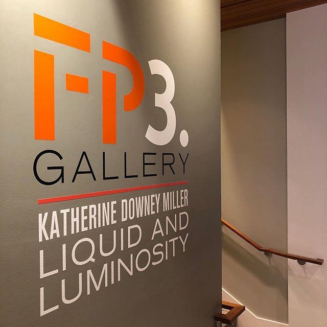 Just around the corner... @fp3gallery Opening Reception Wednesday, May 8. 6 - 8 PM @kdowneymiller with @mayhewwine and snacks. #liquidandluminosity