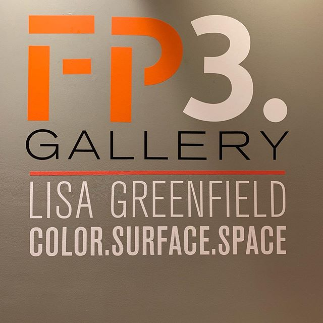 Opening Reception tonight with Lisa Greenfield! See you at 6:00!