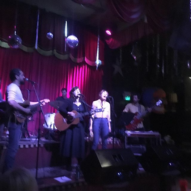 Soaking in @paulafrazerofficial new material at Tarnation release party, hitting the stage next! Where yat San Francisco?