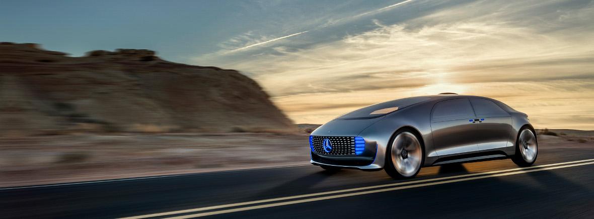 Mercedes F 015