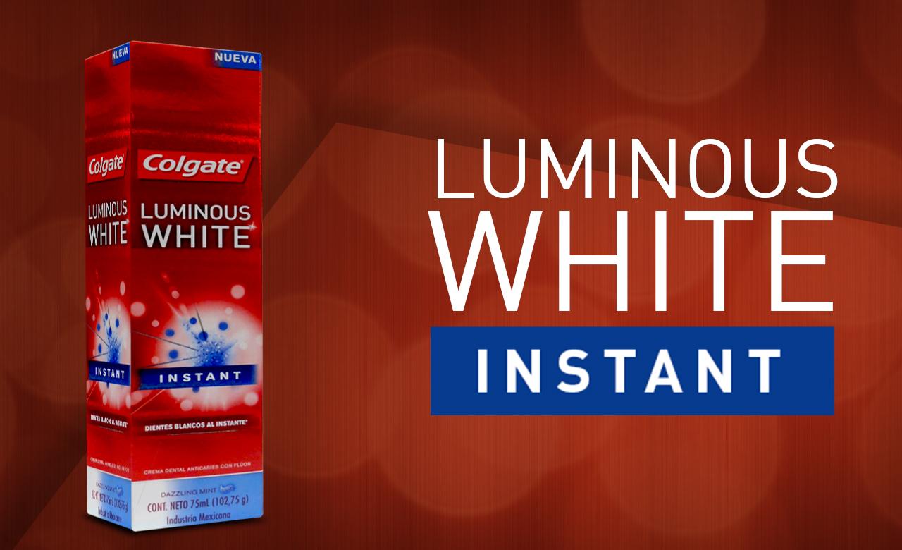 Luminous White Header