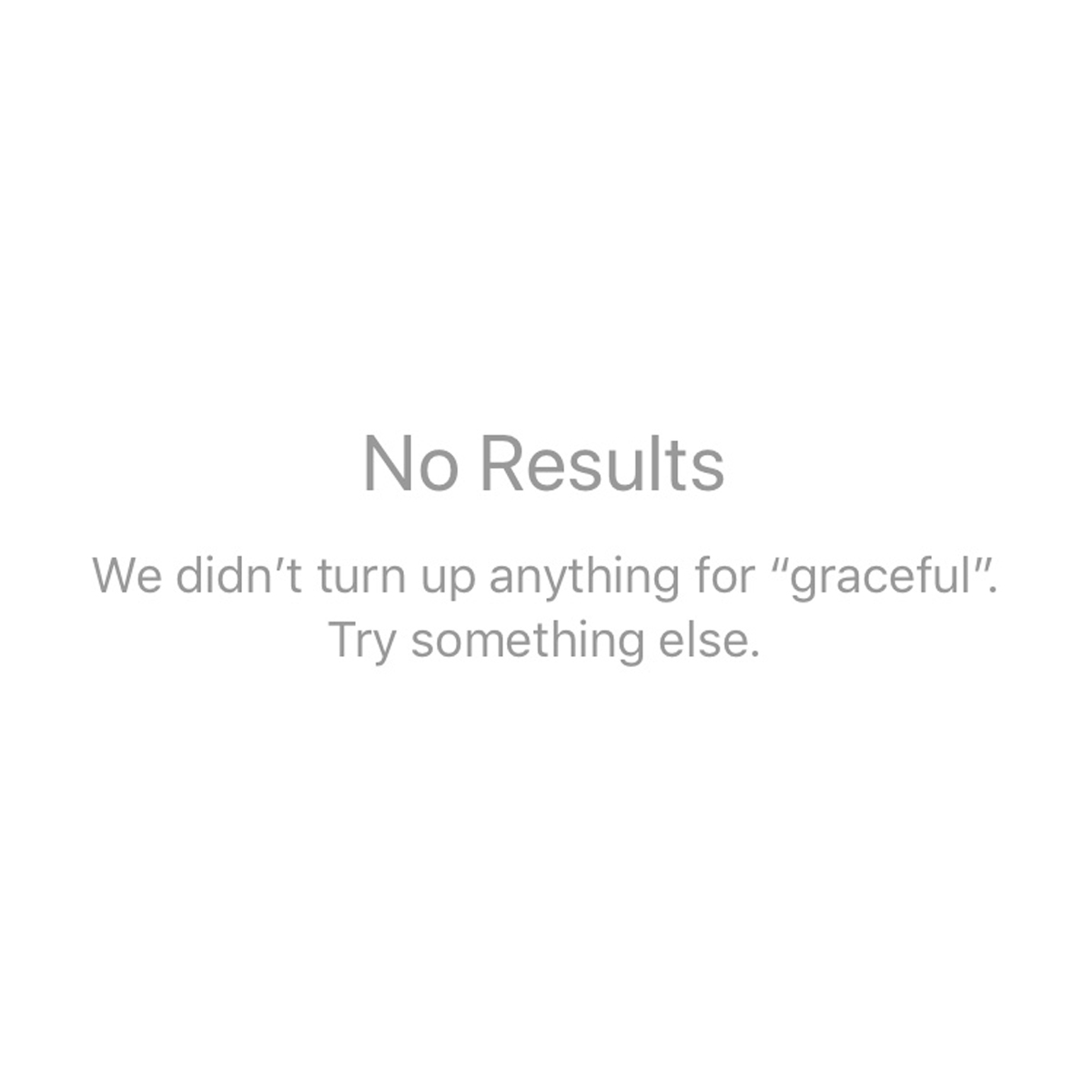 10.17.17: Graceful (No Results)