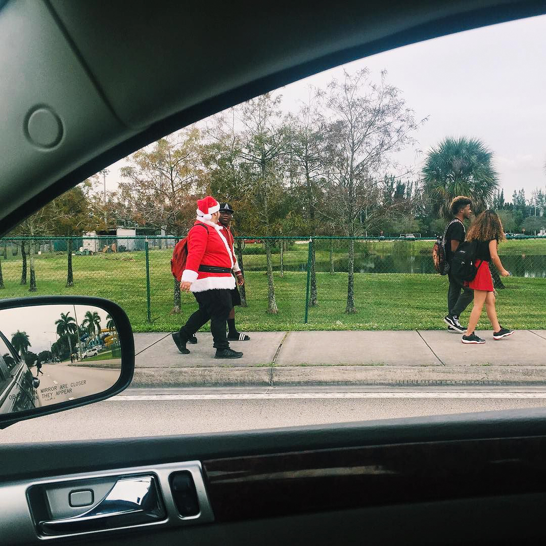 Here Comes Santa,  You Are Here
