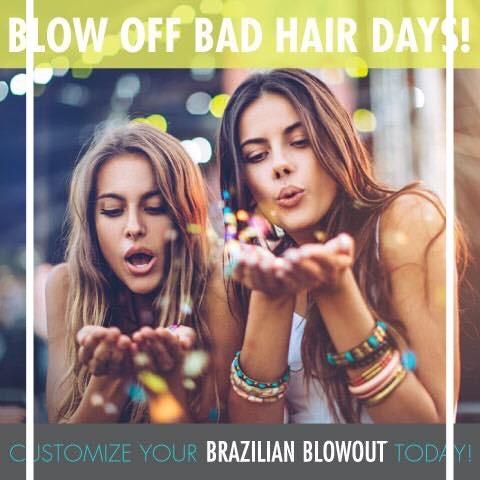 #BrazilianBlowout