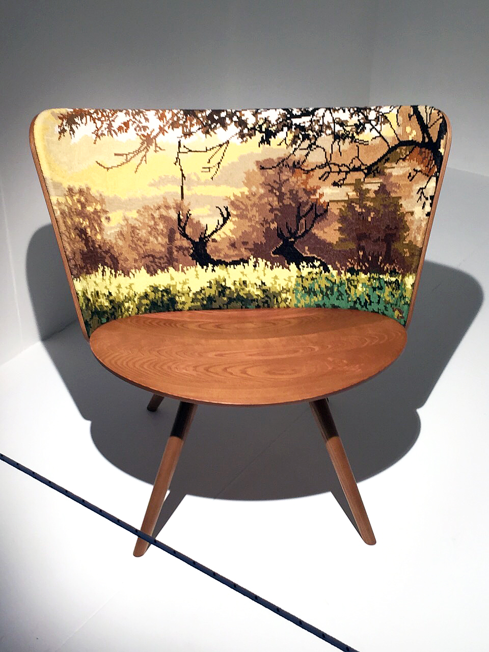 Embroidery Chair Lindsten Form Studio