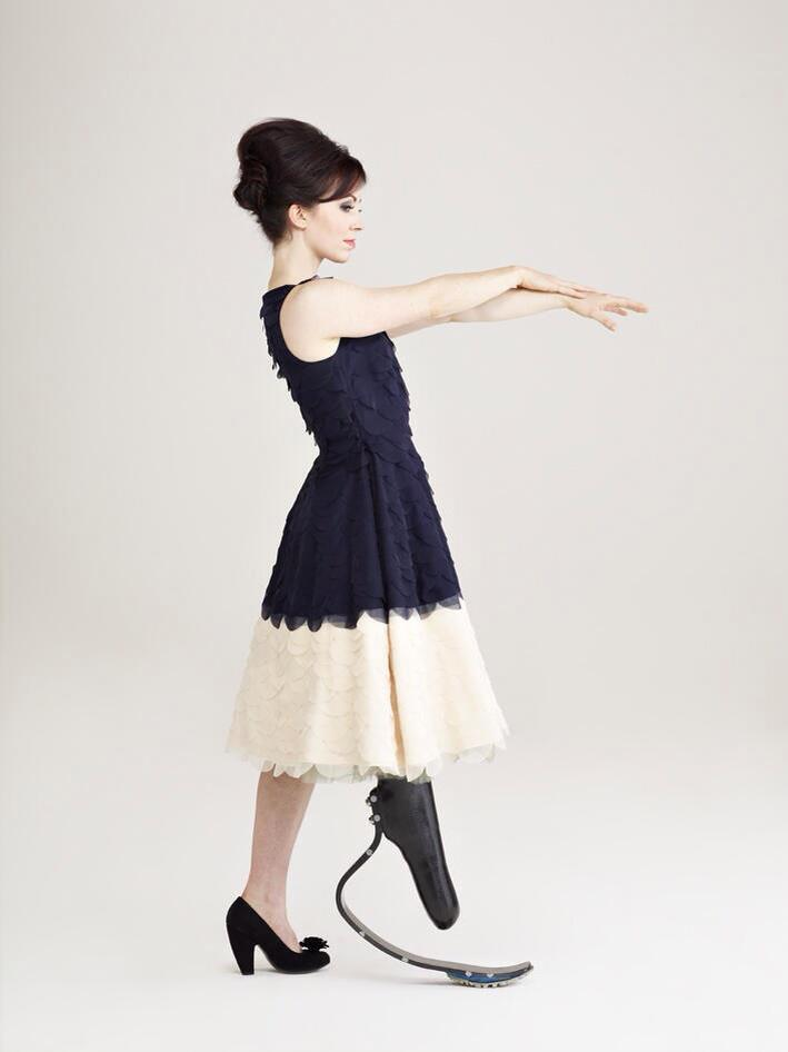 Stef's modelling debut for fashion retailer Debenhams