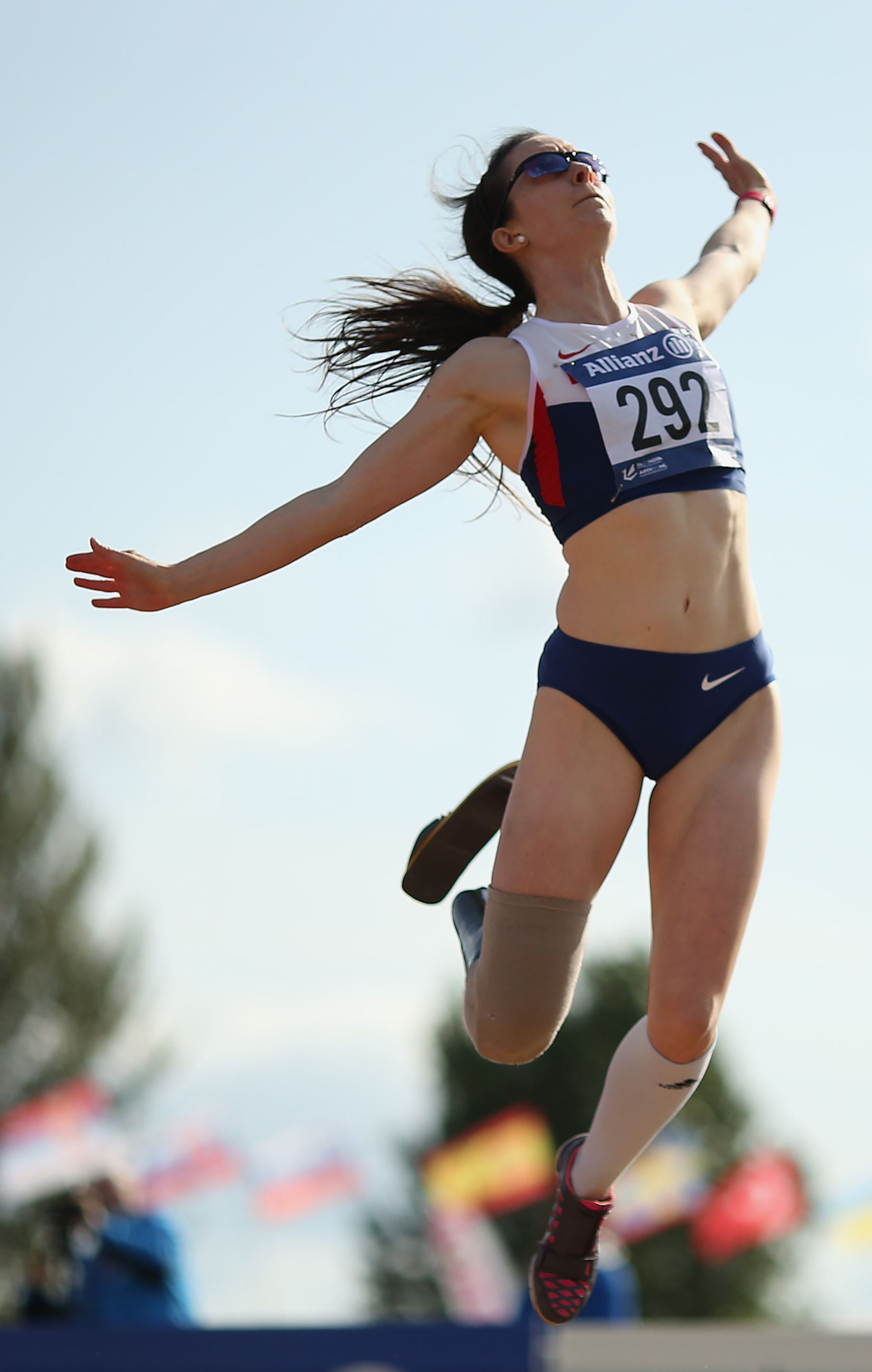 Leaping to victory at the 2014 IPC European Champs