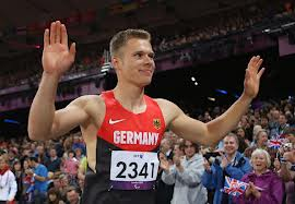 Markus Rehm. Amputee world record holder with leap of 8.24m