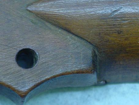 Original Headstock Detail