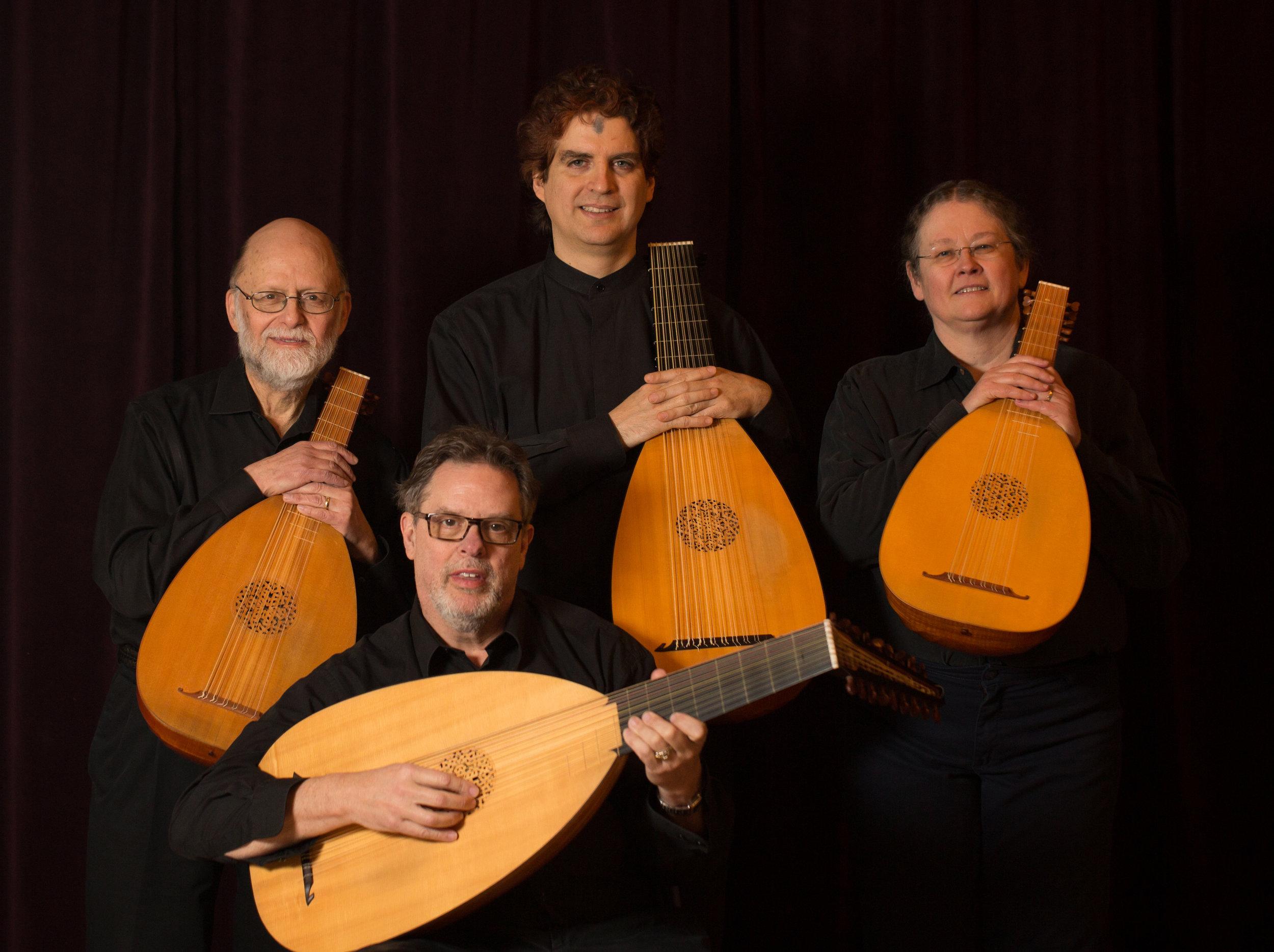 Left to right:Douglas Freundlich,Phillip Rukavina,Christopher Morrongiello,Gail Gillispie