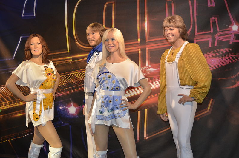 These wax ABBA statues are neither ABBA nor ABA. ( source )