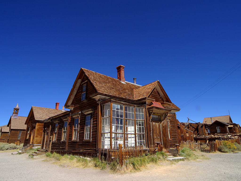 "Like this only with considerably more mulch-   ""Bodie ghost town"" by PDPhoto.org - Licensed under Public Domain via Commons"