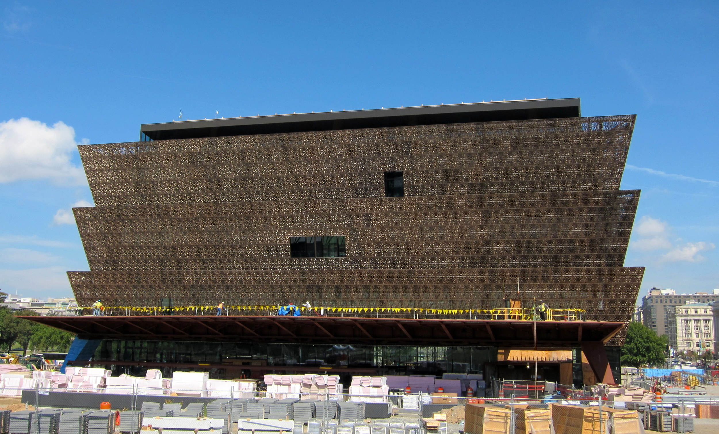 Hopefully they'll have exhibits on African American scientists and environmentalists at the National Museum of African American History and Culture.  (By AgnosticPreachersKid via  Wikimedia Commons )