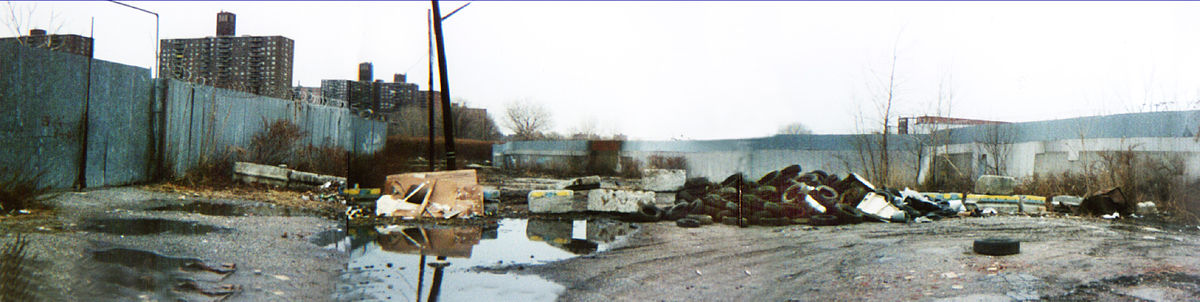 An abandoned lot in Hunt's Point turned into an illegal dumping ground.