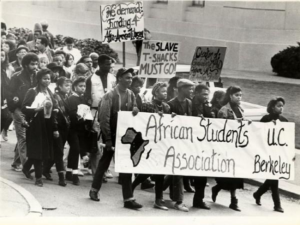 Dr. Collins arrived on campus during an upwelling of student protests. ( source )