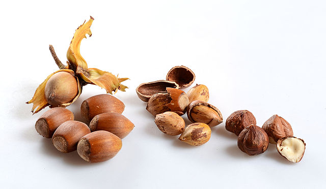 Hazlenuts are another honest nut. (by  Simon A. Eugster  via a  CC 3.0 )