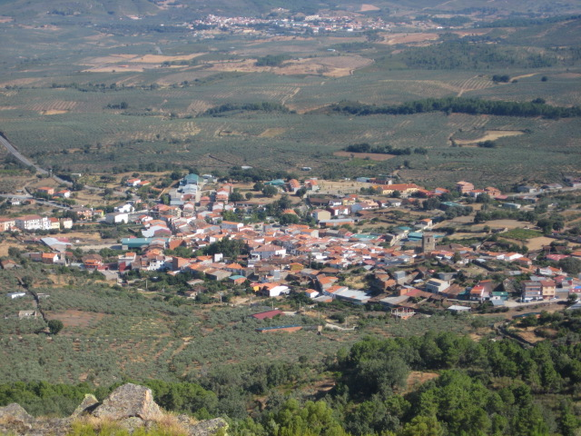 Villanueva de la Serra, the birthplace of modern Arbor Day ( source )