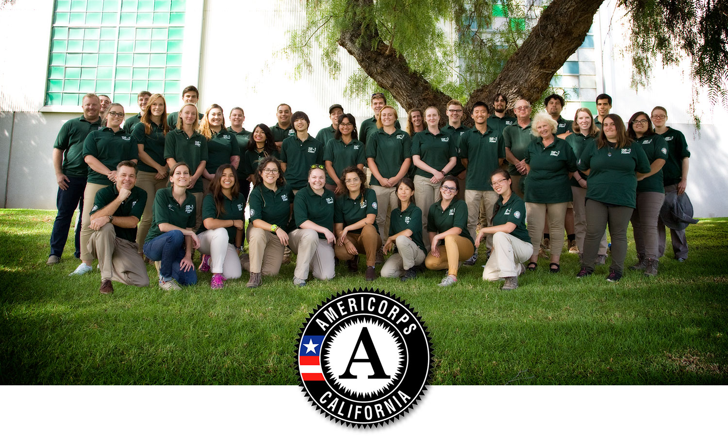The Our City Forest 2016-2017 AmeriCorps Team!