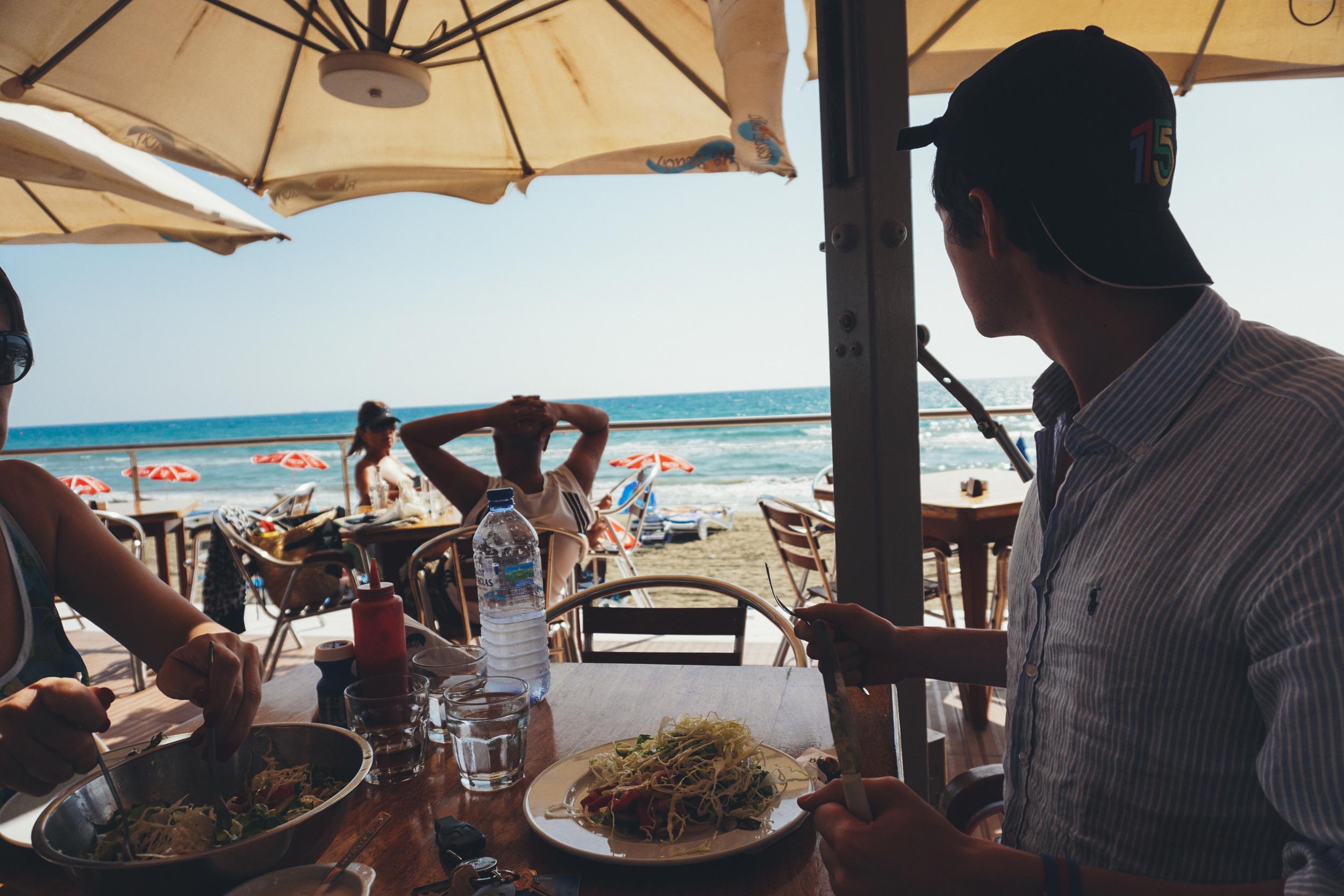 Cyprus Kourion Beach Seafood Restaurant