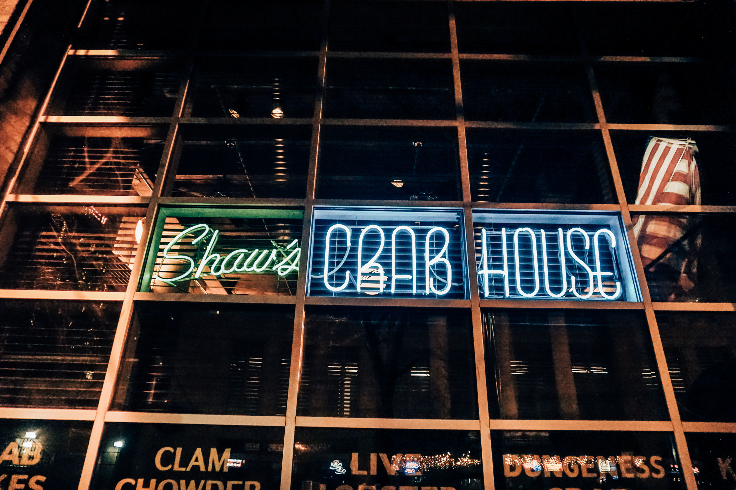 Shaw's Crab House, Chicago. Seafood Restaurant. United States of America.