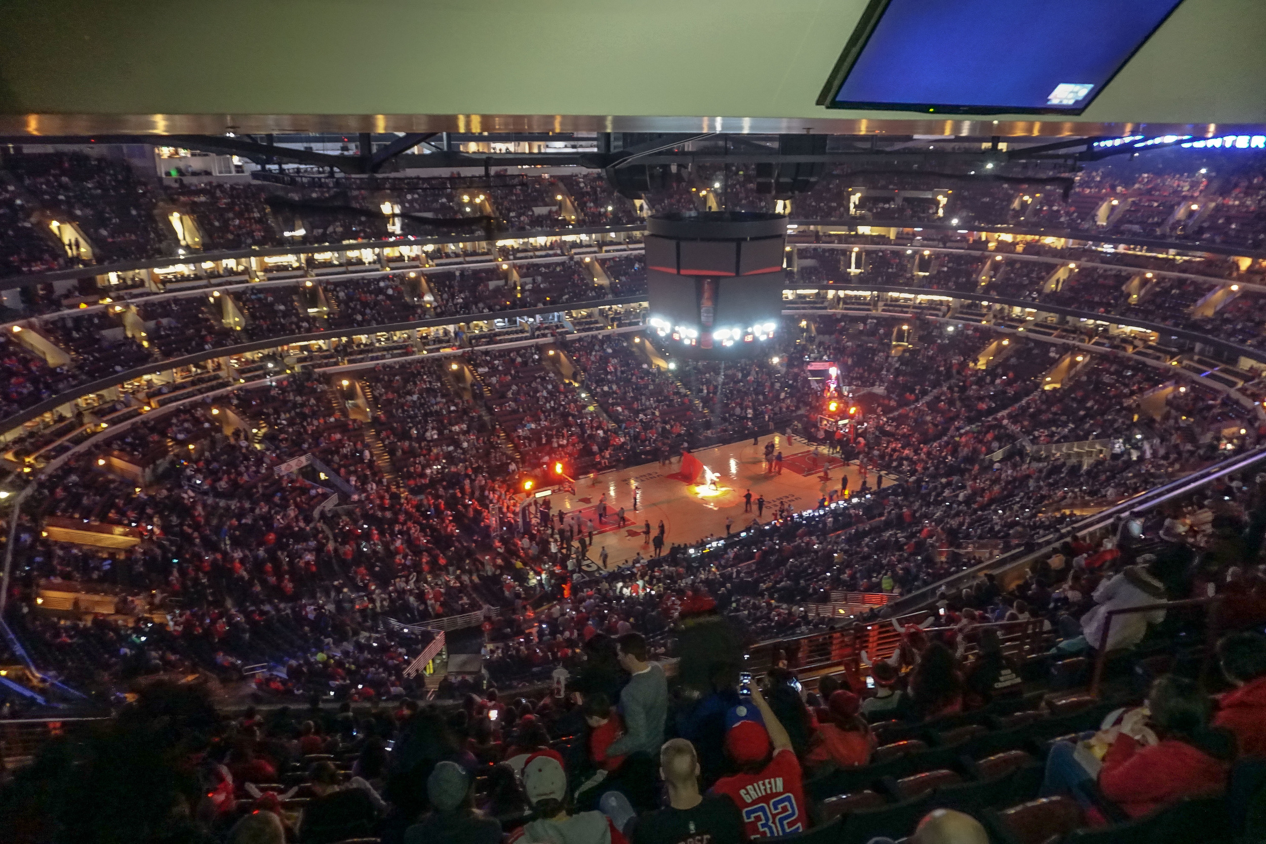 Basketball, Chicago Bulls vs LA Clippers. United States of America.