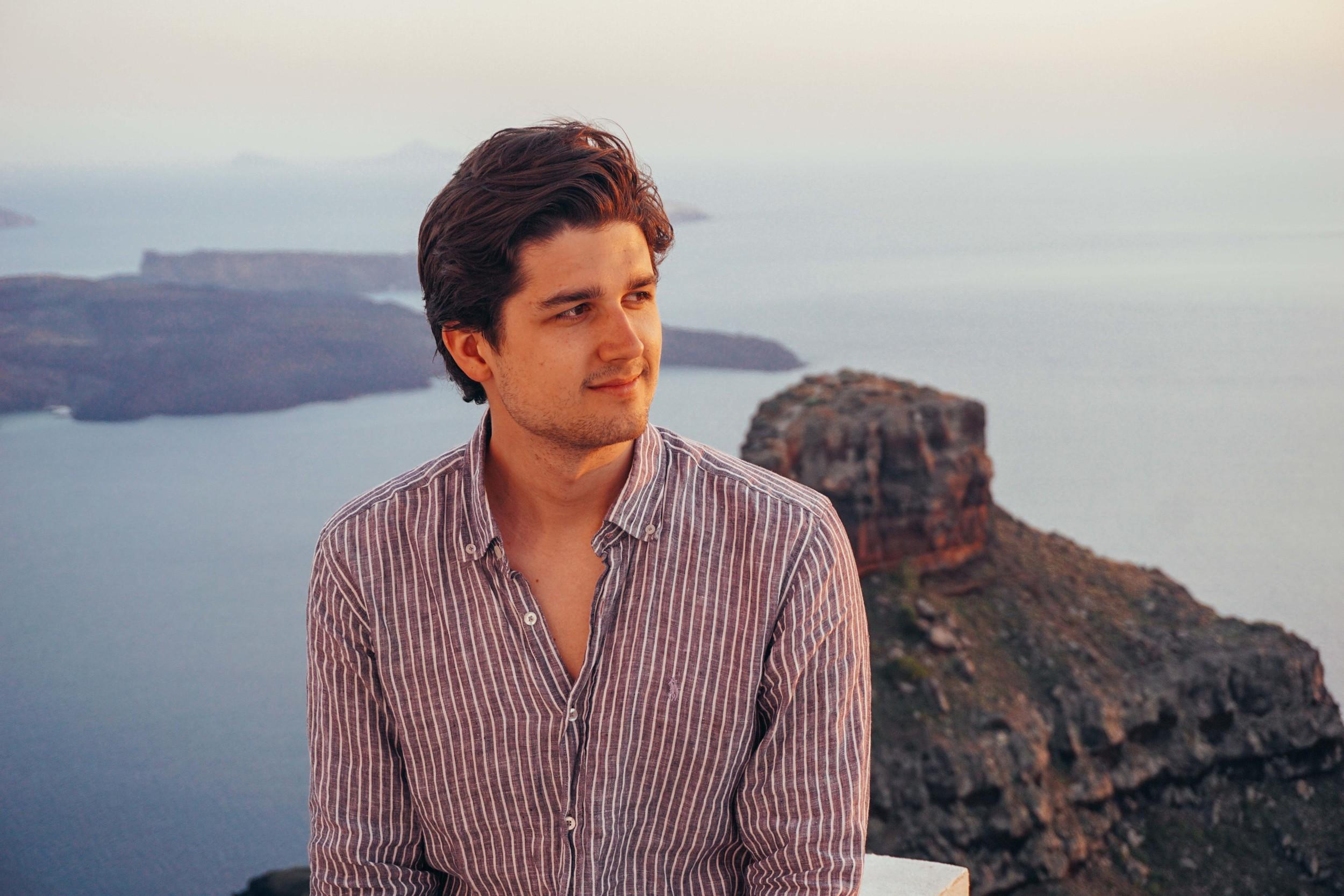 Greece, Santorini, Imerovigli Sunset