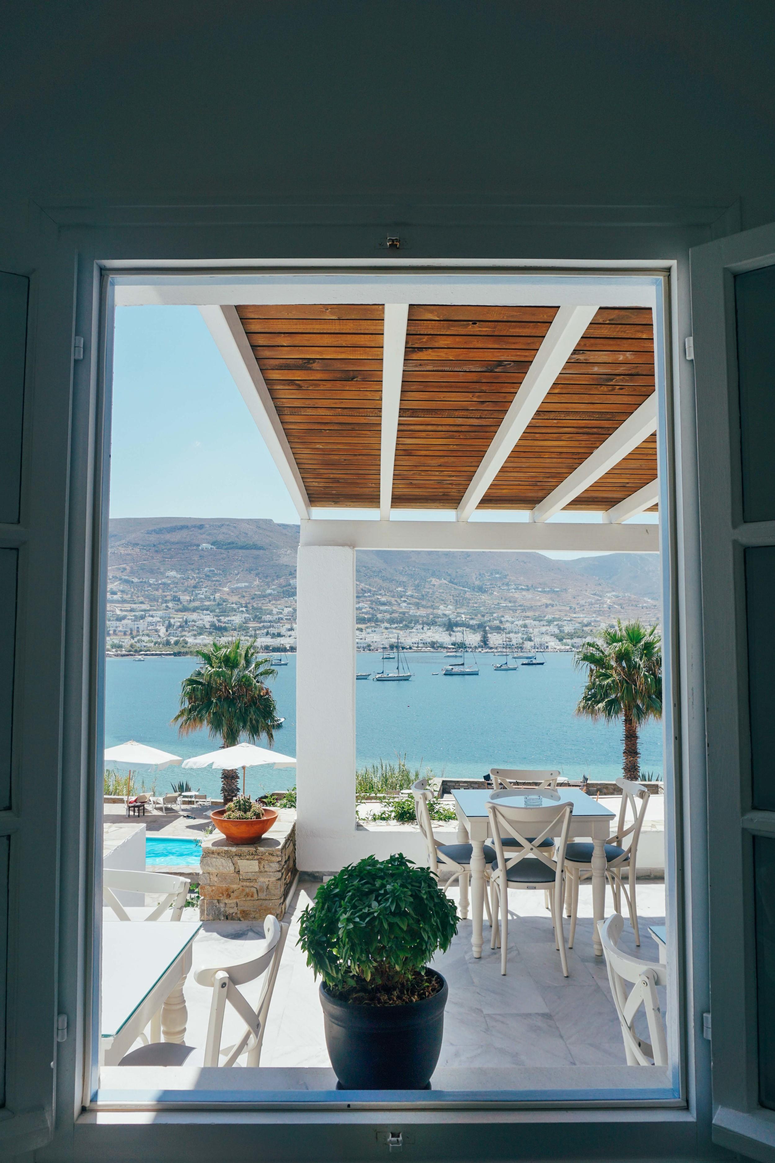 The Parian Village in Paros, Greece