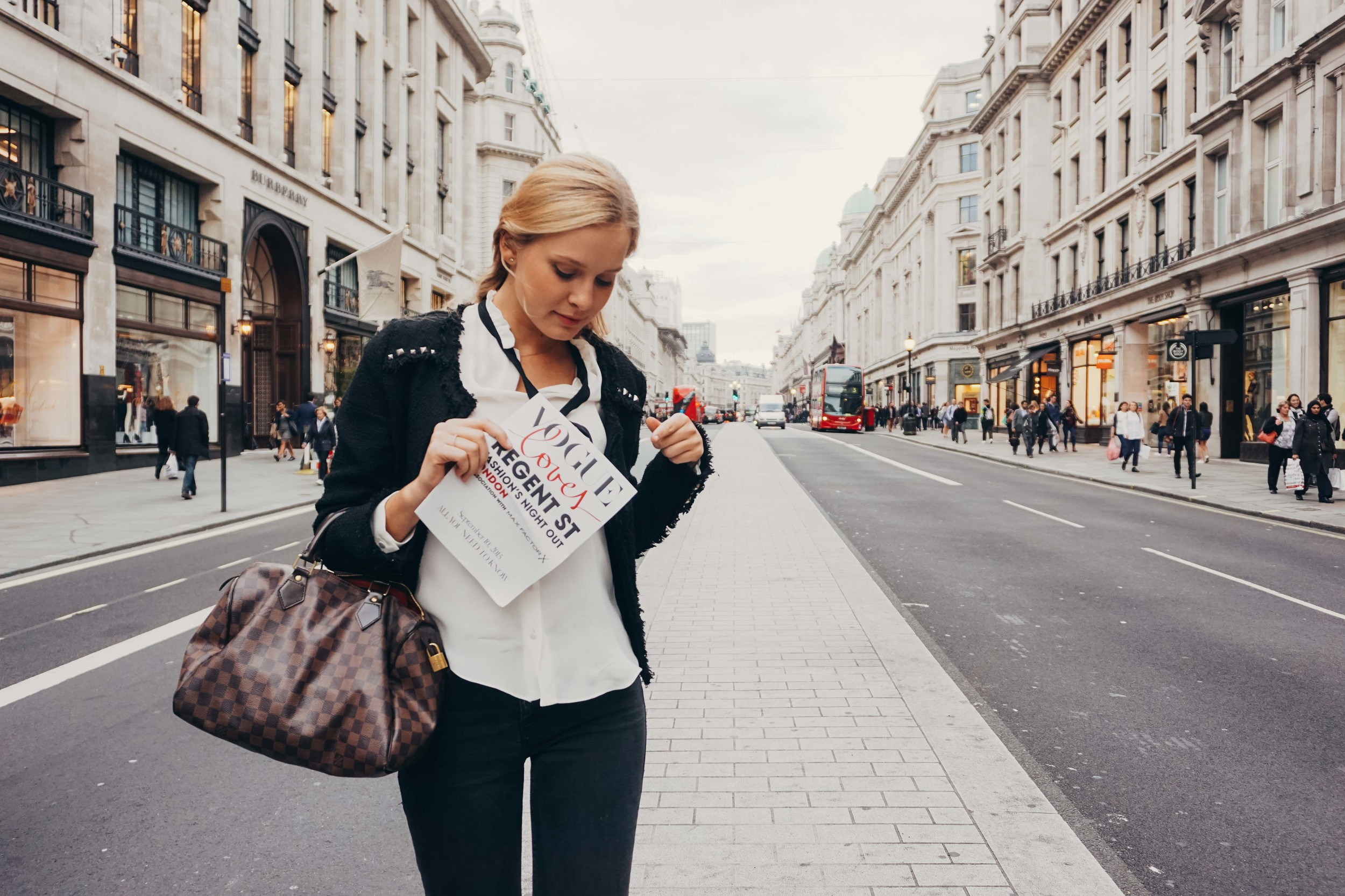 Vogue Loves Regent Street.