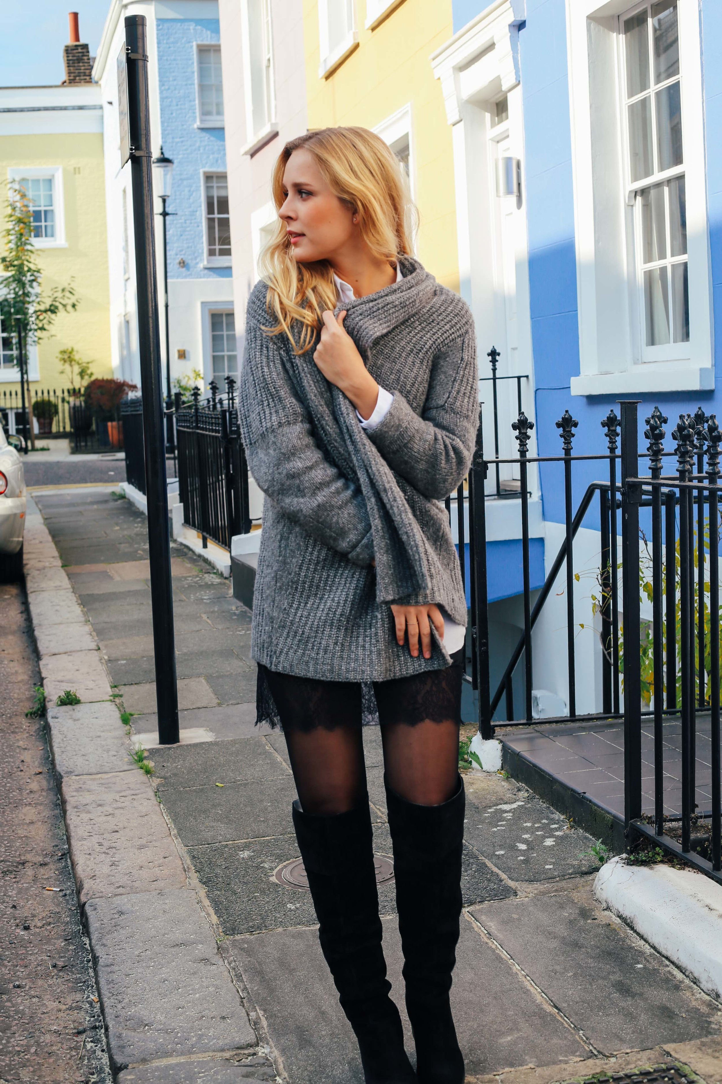 Autumn walks in Notting Hill