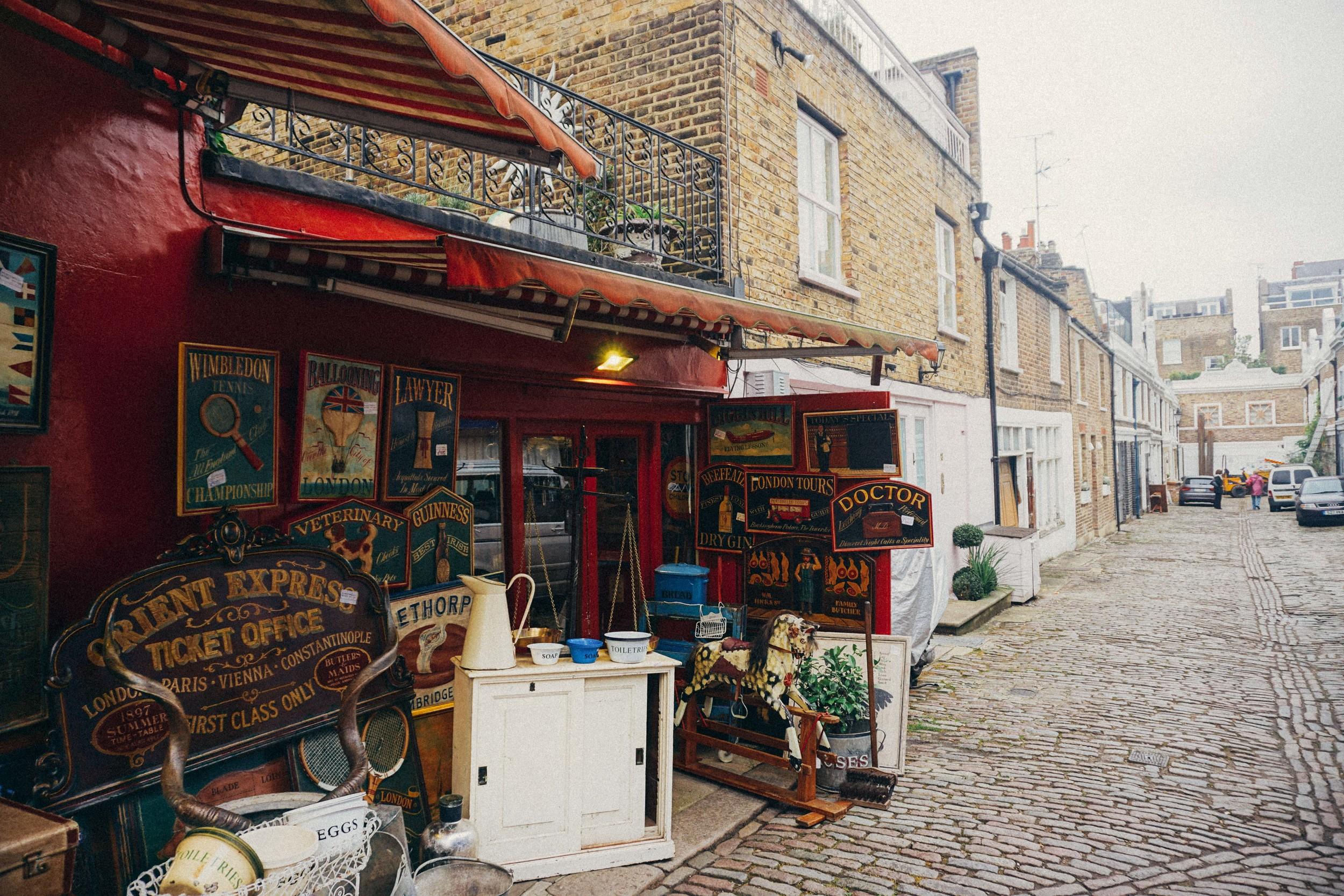 Notting Hill Markets