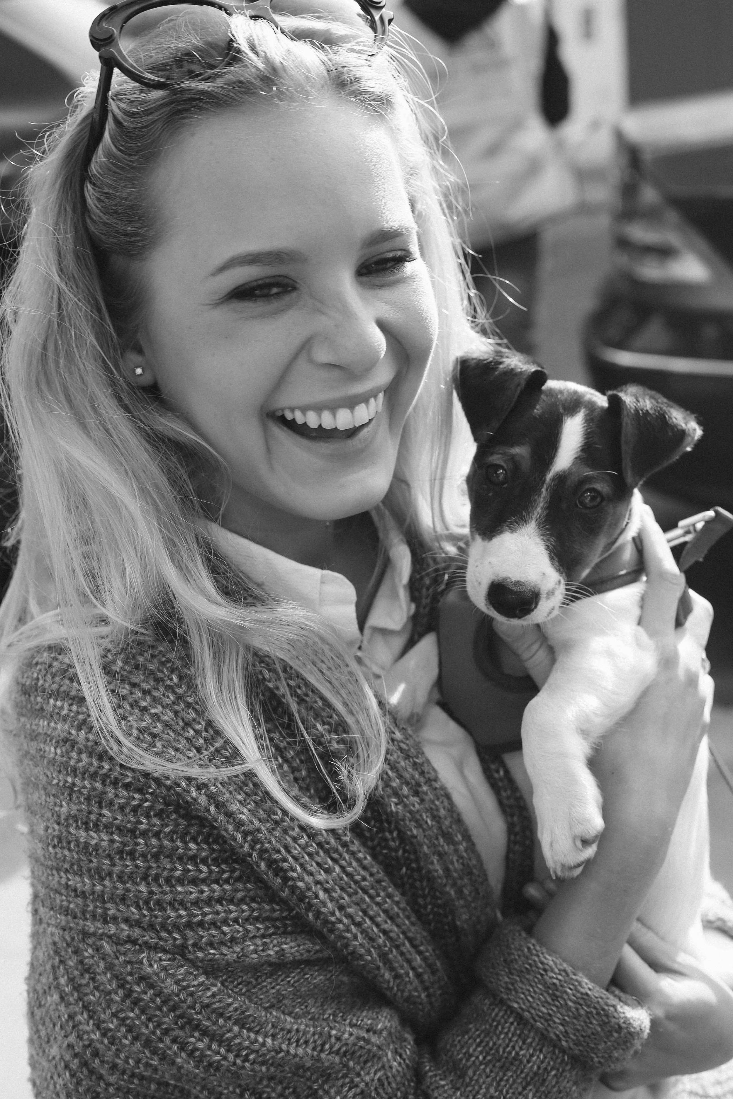 Puppies in Notting Hill