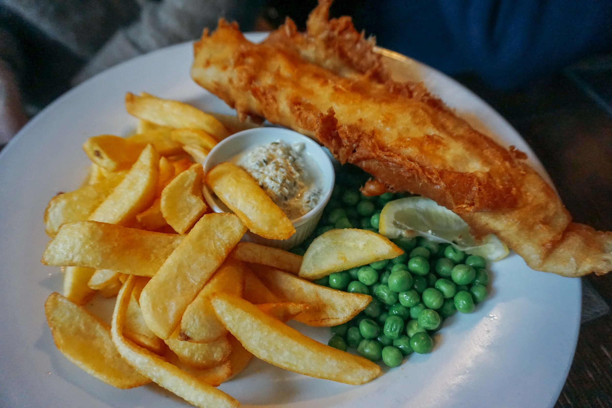 English pubs, fish and chips.