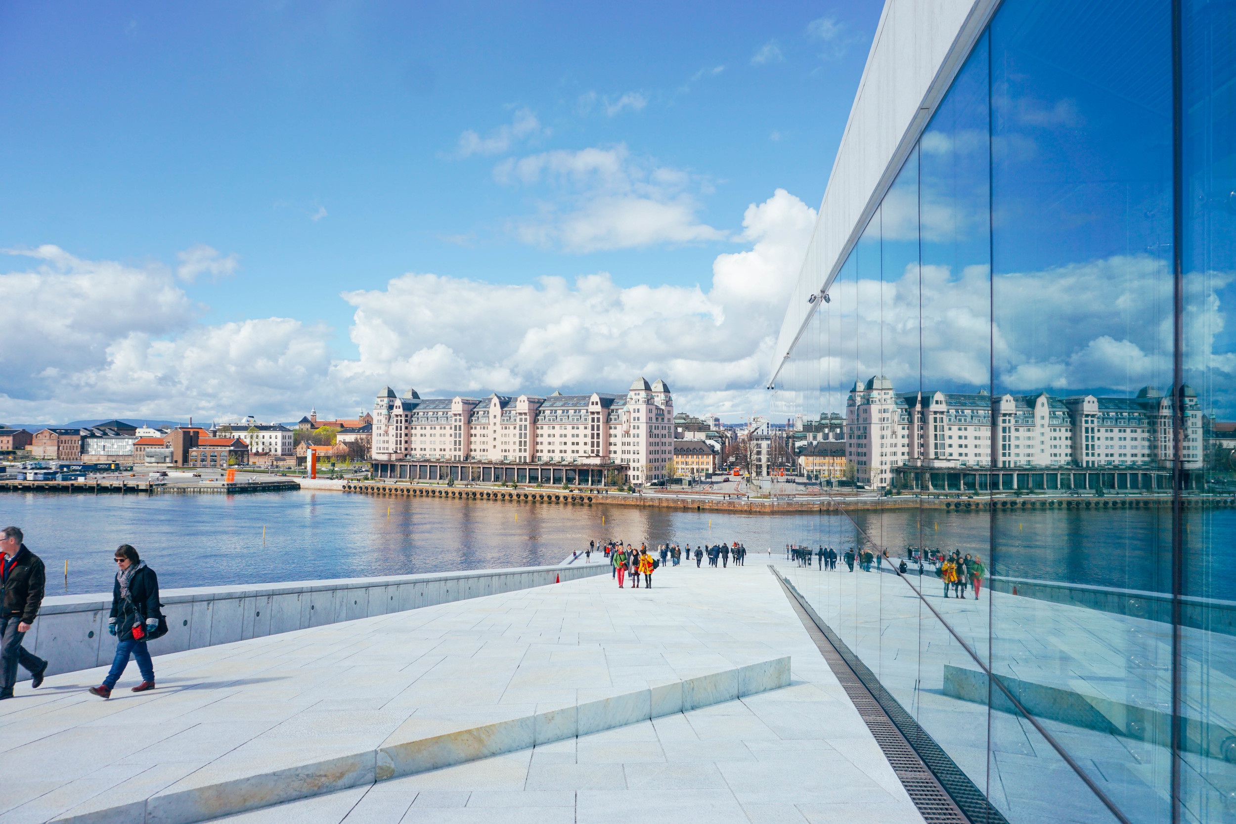 Oslo Opera House Architecture